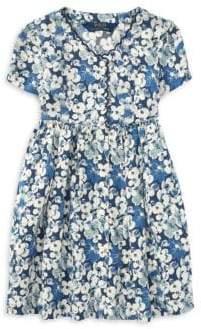 Ralph Lauren Little Girl's Short-Sleeve Floral Dress