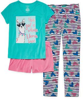 Arizona 3-pc. Pajama Set Girls