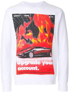 Blood Brother Flames sweatshirt