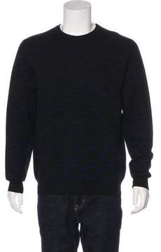 Public School Patterned Wool Sweater