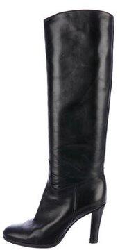 Ralph Lauren Leather Knee-High Boots