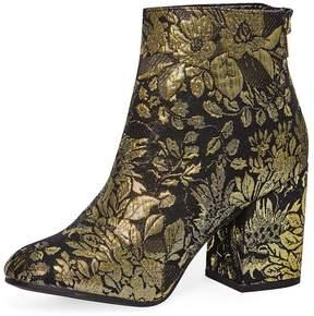Dorothy Perkins Gold Brocade 'Mariah' Boots