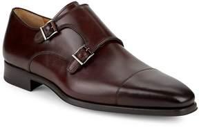 Saks Fifth Avenue by Magnanni Men's Double Monkstrap Leather Shoes
