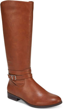 Style&Co. Style & Co Keppur Riding Boots, Created for Macy's Women's Shoes