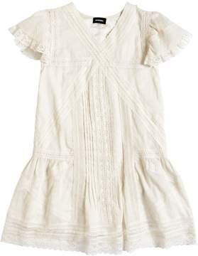 Diesel Cotton Muslin & Lace Dress