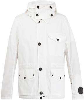 C.P. Company Goggle cotton-blend jacket