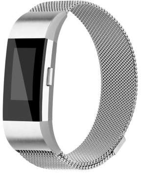 Fitbit AdePoy Adepoy Replacemnt Bands for Charge 2 Milanese Stainless Steel Bracelet with Strong Magnet Lock