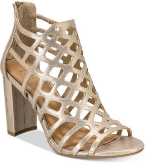 Material Girl Cadence Caged Sandals, Created for Macy's Women's Shoes