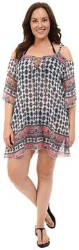 Becca by Rebecca Virtue Plus Size Belly Dancer Tunic Cover-Up