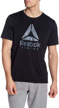 Reebok Run Logo Graphic Tee