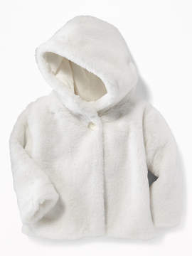 Old Navy Faux-Fur Hooded Coat for Baby