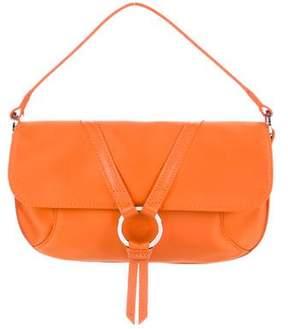 Longchamp Leather-Trimmed Nylon Handle Bag