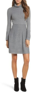 Eliza J Women's Turtleneck Sweater Dress