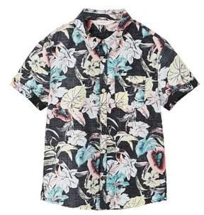 MANGO Hawaiian printed shirt