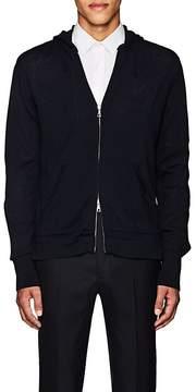 Officine Generale Men's Wool Zip-Front Hoodie