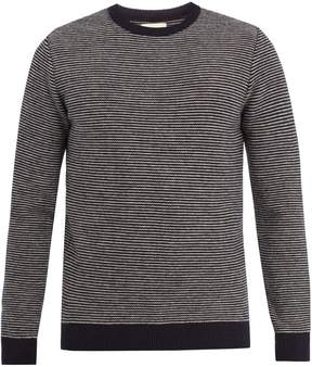 Oliver Spencer Blenheim striped-wool sweater