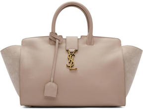 Saint Laurent Pink Small Downtown Cabas Tote