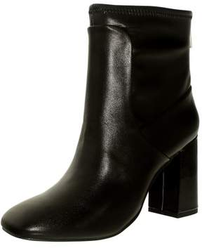 Charles David Charles By David Women's Trudy Black Ankle-High Leather Boot - 9.5M