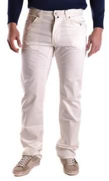 Gant Men's White Cotton Jeans.