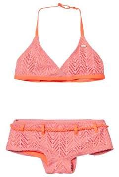 O'Neill Pink Structure Halter Bikini