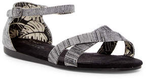 Toms Correa Metallic Ankle Strap Sandal (Little Kid & Big Kid)