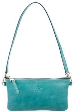 Etro Smooth Leather Shoulder Bag
