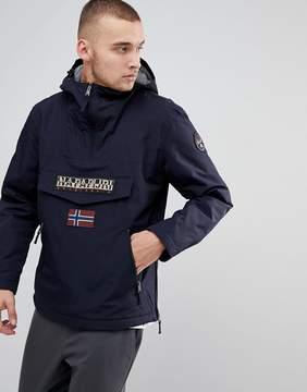 Napapijri Rainforest Pocket Jacket in Navy
