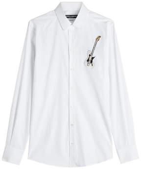 Dolce & Gabbana Embellished Cotton Shirt