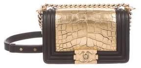Chanel Small Alligator Boy Bag