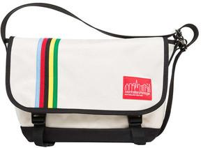 Manhattan Portage Rainbow Stripes Vintage Jr. Messenger Bag