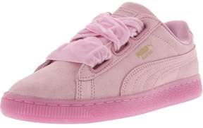 Puma Women's Heart Reset Suede Prism Pink / Ankle-High Fashion Sneaker - 7.5M