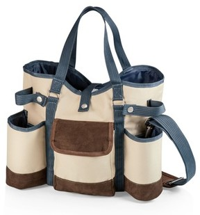 Picnic Time Wine Country Wine & Cheese Tote - Brown