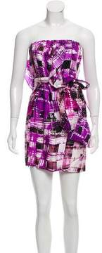 Ali Ro Silk Printed Dress w/ Tags