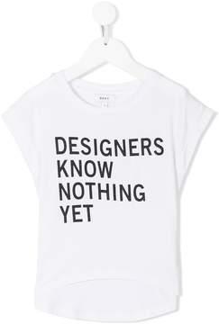DKNY slogan-print T-shirt