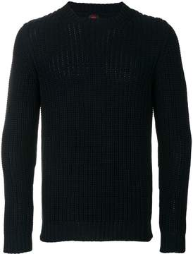 Piombo Mp Massimo Ribbed-knit sweater