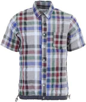 Sacai Tartan Cotton Shirt