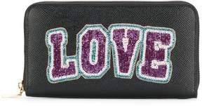 Dolce & Gabbana Love zip around wallet
