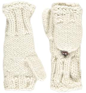 Forever 21 Cable Knit Convertible Gloves