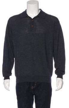 C.P. Company Wool Polo Sweater
