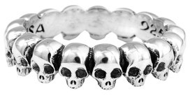 King Baby Studio Men's Skull Ring