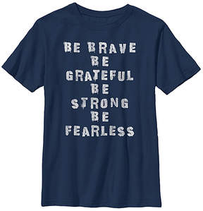 Fifth Sun Navy 'Be Brave' Crewneck Tee - Youth