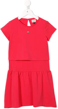 Emporio Armani Kids short sleeve dress