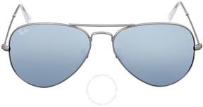 Ray-Ban Aviator Silver Flash Sunglasses