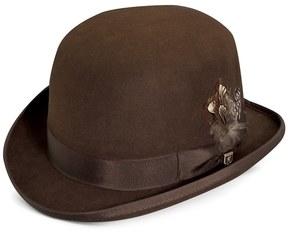 Stacy Adams Men's Wool Felt Derby Hat