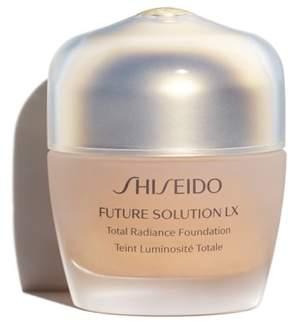 Shiseido Future Solution Lx Total Radiance Foundation Broad Spectrum Spf 20 Sunscreen - Golden 1