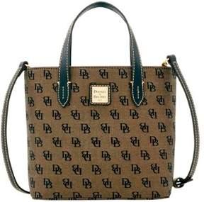 Dooney & Bourke Madison Signature Mini Waverly Top Handle Bag - BLACK - STYLE