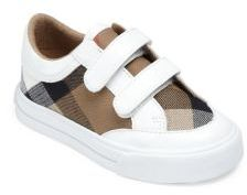 Burberry Baby's & Toddler's Mini Meacham Check-Print Sneakers
