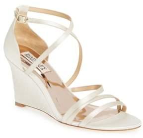 Badgley Mischka Bonanza Strappy Wedge Sandal