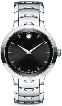 Movado Stainless Steel Luno Watch, 40mm