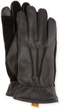 UGG Men's 3-Point Leather Smart Gloves